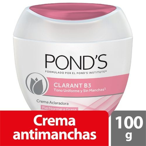 crema ponds clarant b3 piel normal a grasa x 100 gr original