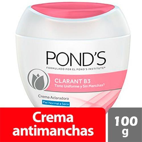 crema ponds clarant b3 piel normal a seca x 100 gr original