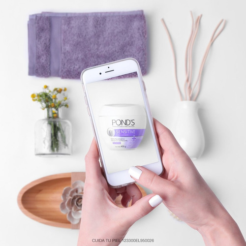 crema ponds sensitive hipoalergenica x 100 gr original