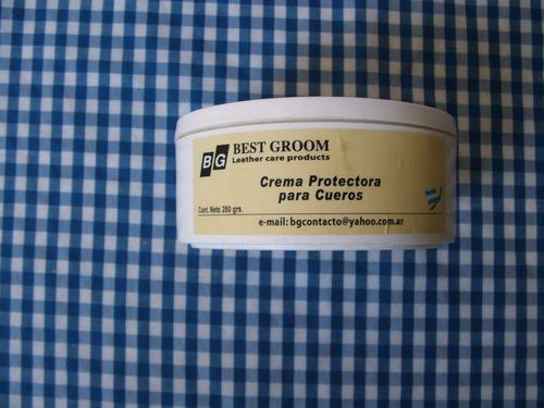 crema protectora para cueros best groom