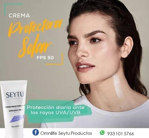 crema protectora solar factor 50