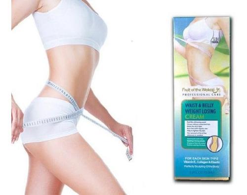 crema reductora adelgazante cintura cadera (profesional)