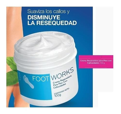 crema reparadora pies con callos avon foot works piel seca