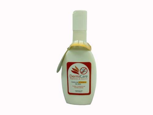 crema repelete citronela dermicare 200ml  3 unid
