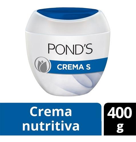crema s pond's nutritiva 400 grs.