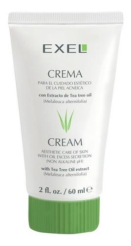 crema secativa con tea tree oil para acné por 60g - bio exel