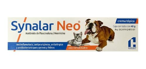 crema synalar neo 40g perros y gatos chinoin