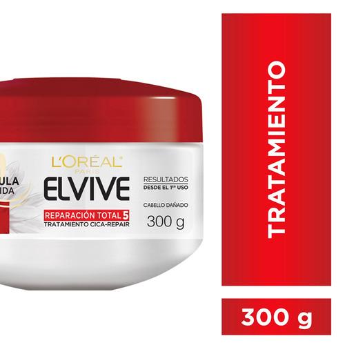 crema tratamiento reparación total 5 elvive l´oréal x 300 ml