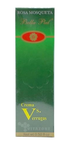 crema vs verrugas 15 ml rosa mosqueta