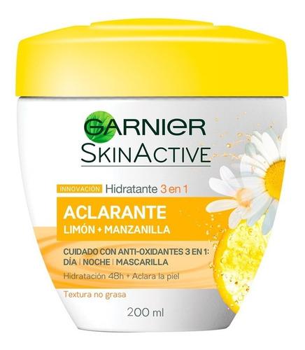 crema y mascarilla aclarante para piel con manchas garnier