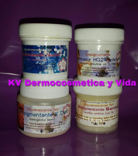 cremas despigmentant k aclara manchas según tu piel y zona