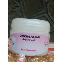 Crema Facial Con Rosa Mosqueta