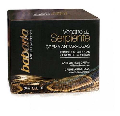 creme anti idade babaria veneno de serpente 50ml.