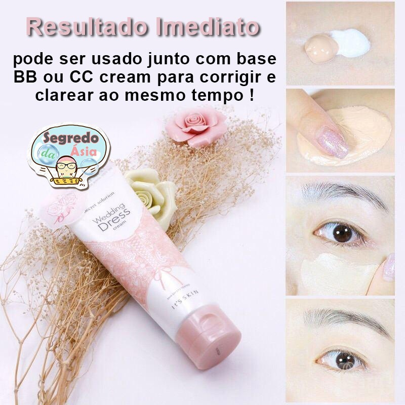 Creme Clareador Coreano It S Skin Secret Solution 100ml R 95 40