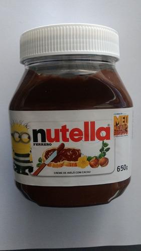 creme de avelã nutella 650g pronta entrega