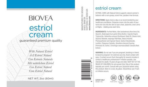 creme de estriol - original importado - 60ml