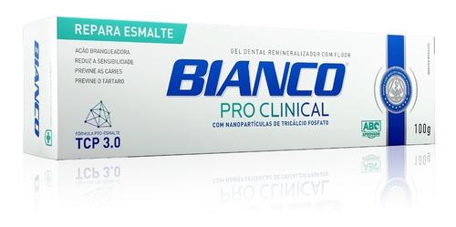creme dental bianco pró clinical 100 gramas 1 unidade