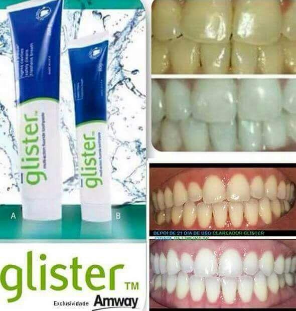 Creme Dental Clareador Glister Importado Usa R 45 00 Em Mercado Livre
