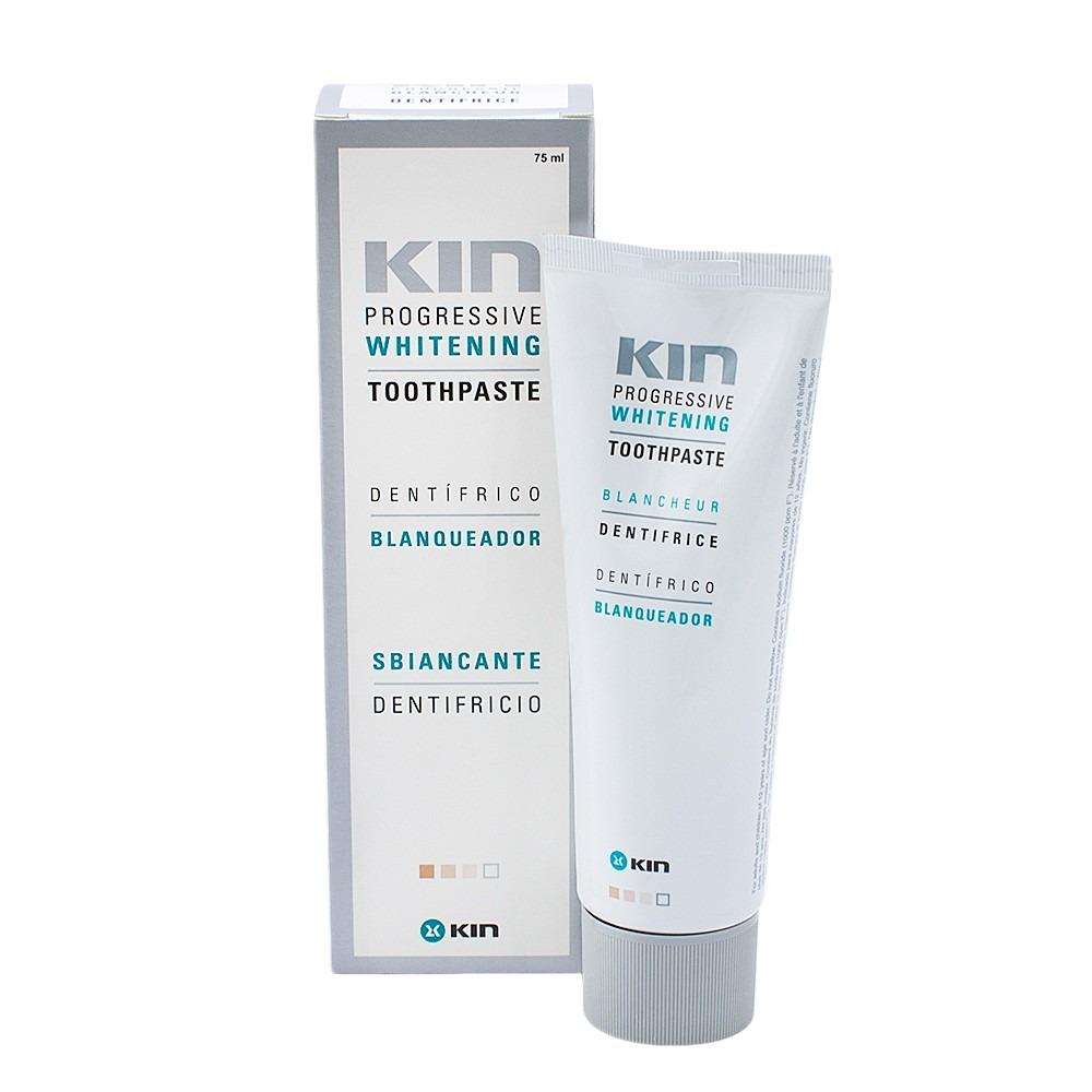 Creme Dental Clareador Kin Progressive Whitening Branqueador R 60