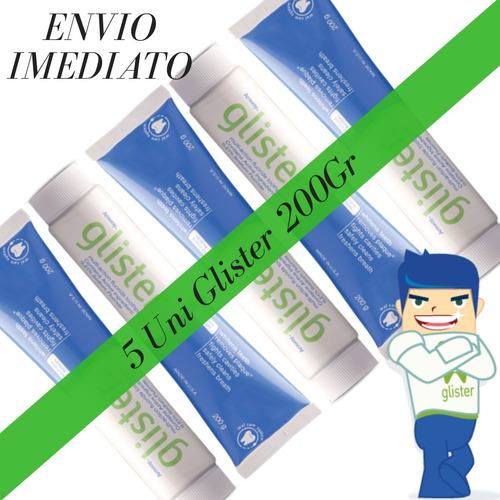 creme dental (gel) 200g glister  multi-action amway kit-5 un