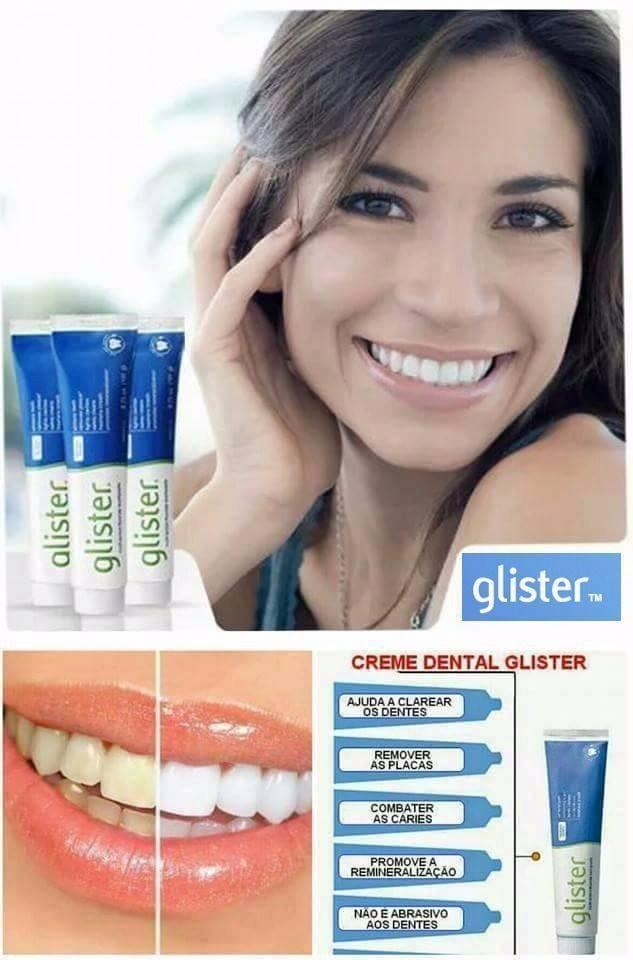 Creme Dental Glister 200g Vendido Por Made In U S A R 55 00 Em