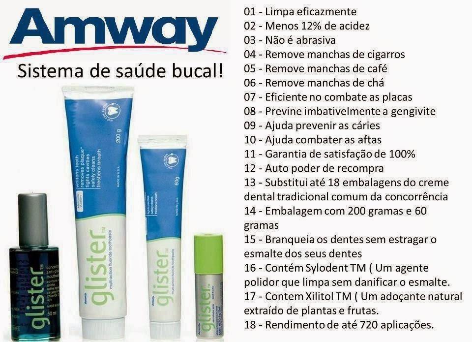 Creme Dental Glister Pasta Que Clareia Os Dentes Promocao R 29