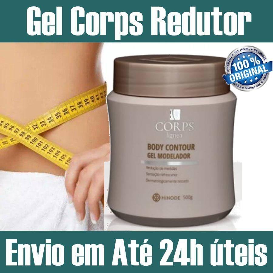d02a0181853ca Creme Gel Corps Lignea Hinode Reduz Celulite Gordura Medidas - R  44,00 em  Mercado Livre