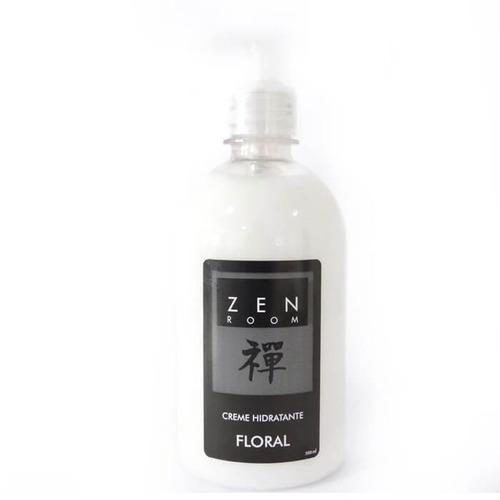 creme hidratante floral 500ml zen room zrc001