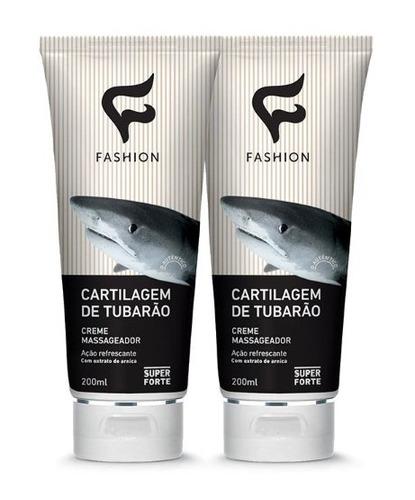 creme massageador cartilagem de tubarão - nova embalagem