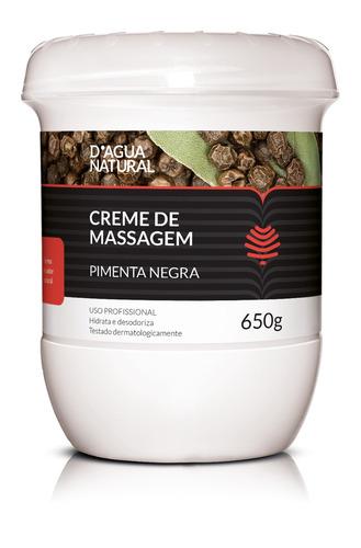 creme pimenta negra + esfoliante forte 300g  d'agua natural