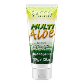 Creme Revitalizante Para Face E Corpo Multi Aloe - Racco