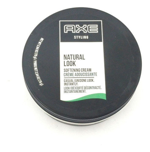 creme suavizante axe styling natural look 75g