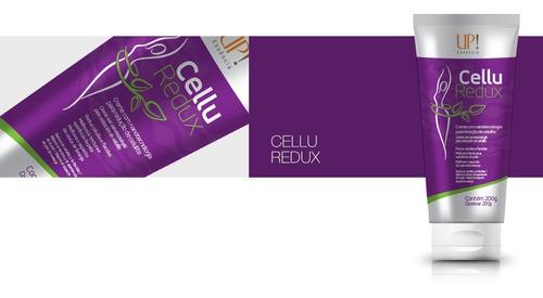 creme up! cellu redux nanotecnologia redução de celulite