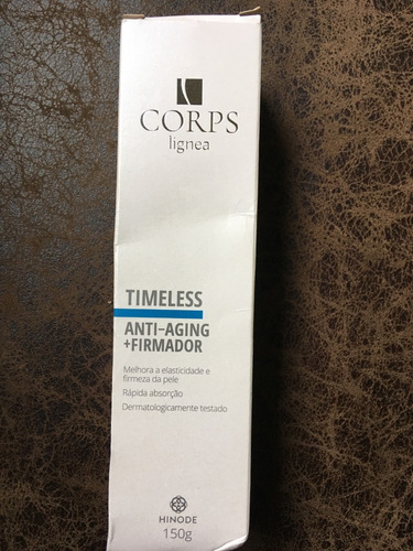 cremecorps lignea timeless anti aging+firmador 150g hinode