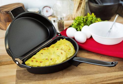 crepe maker non-stick folding omelet pan