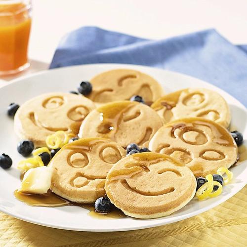 crepe maker nordic ware smiley face pancake pan
