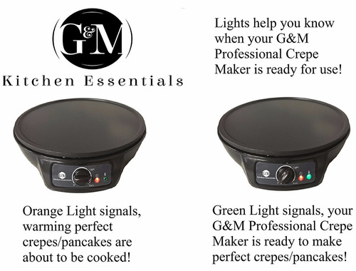 crepe maker professional crepe maker machine by g&m