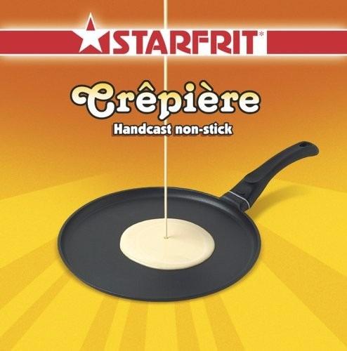 crepe maker starfrit aluminum 10 inch pancake pan