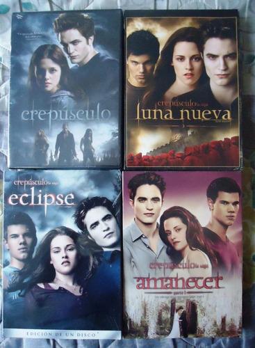 crepusculo paquete peliculas 1 2 3 4 dvd