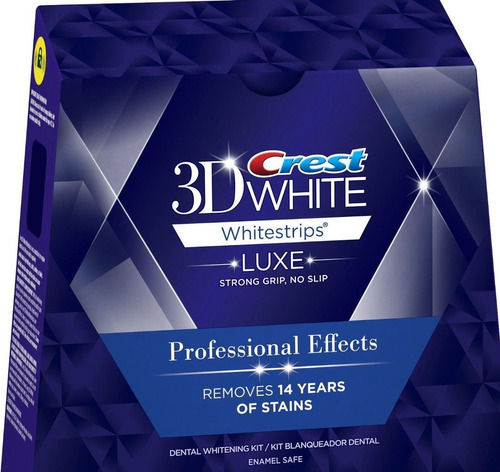 crest 3d white whitestrips professional effects 20 tiras, 1