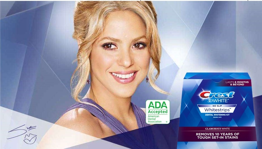 Crest Fita Clareadora Dental 3d White Luxe Eua Dura 6 Meses R