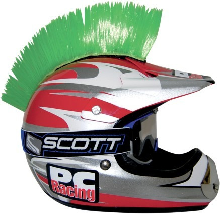 cresta p/casco pc racing verde