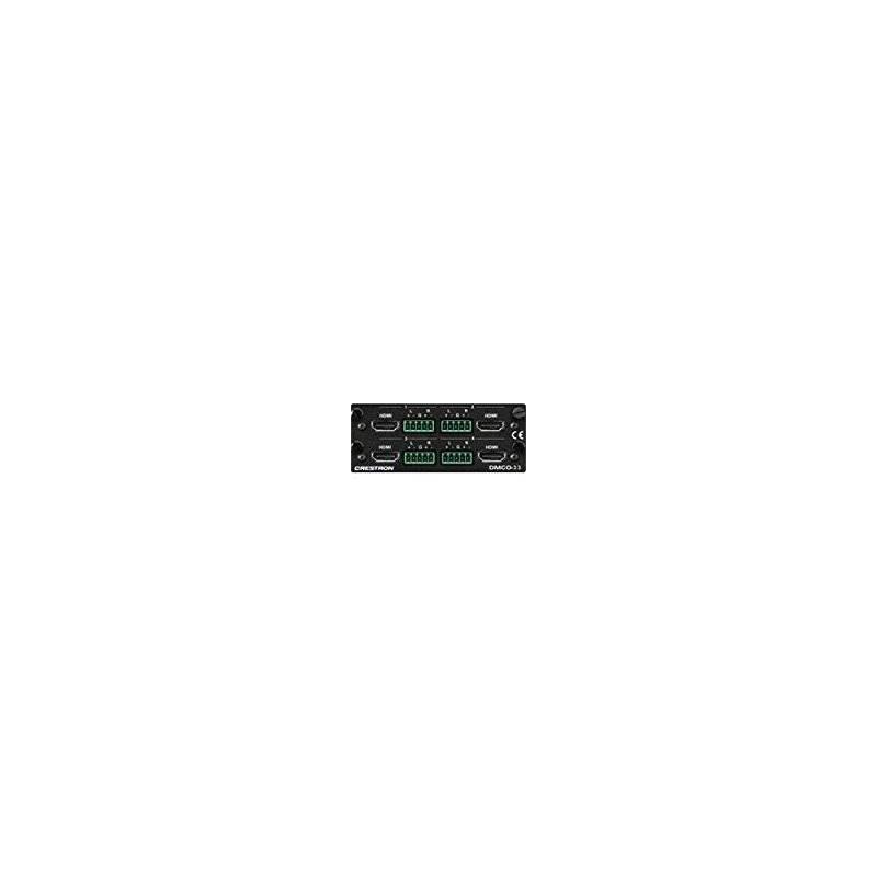 Crestron Dmco-33 4 Hdmi Con 4 Tarjetas De Salida De Audio An