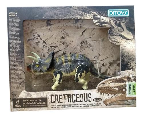 cretaceous dinosaurios 14 cm triceratops