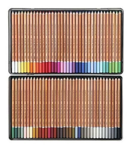 cretacolor bellas artes pastel lápiz conjunto de 72 lápices