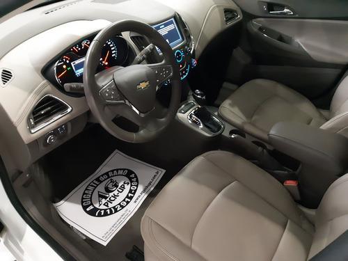 crevrolet cruze sport ltz hatch 2017 branco 1.4 turbo teto