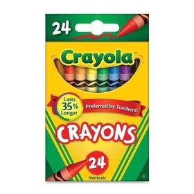 Creyones De Cera Crayola 24