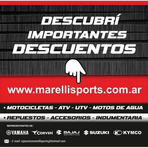 crf 250 2020 en stock, marelli sports entrega inmediata