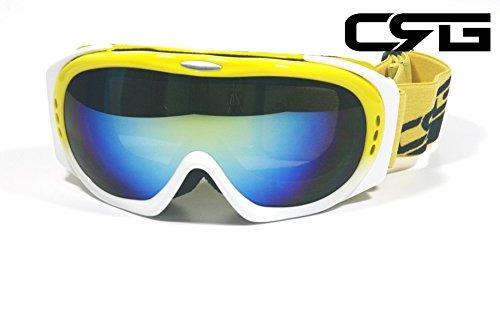 91e7c5d52f Crg Se Divierte Gafas Anti Del Esqui De La Lente Doble De La - $ 712.20 en  Mercado Libre