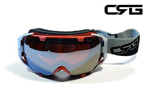 04df18a572 Crg Se Divierte Gafas Antis Del Esqui De La Lente Doble De L ...